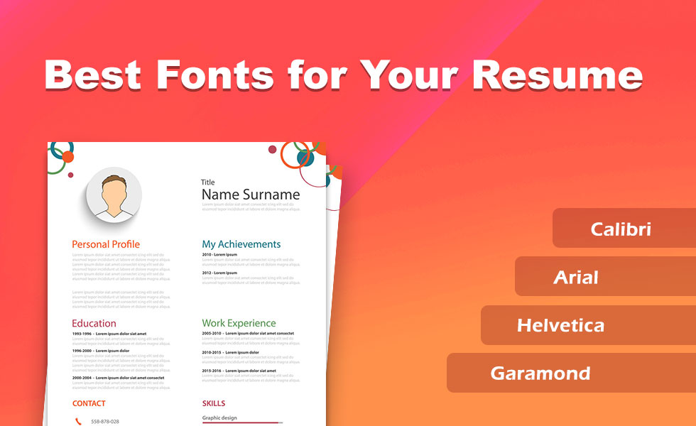 best fonts and size to use on your resume 2020