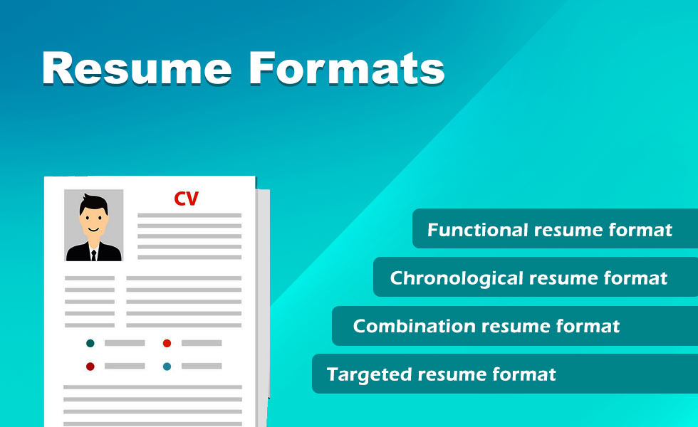 resume formats  when and how to use resume formtat in 2019