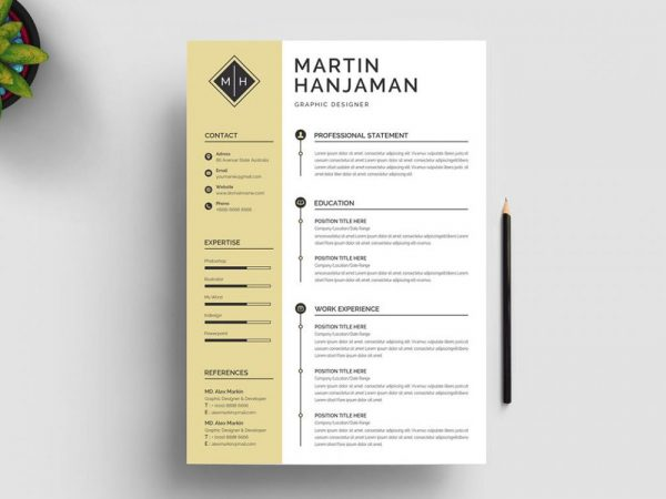 Word Resume Template free