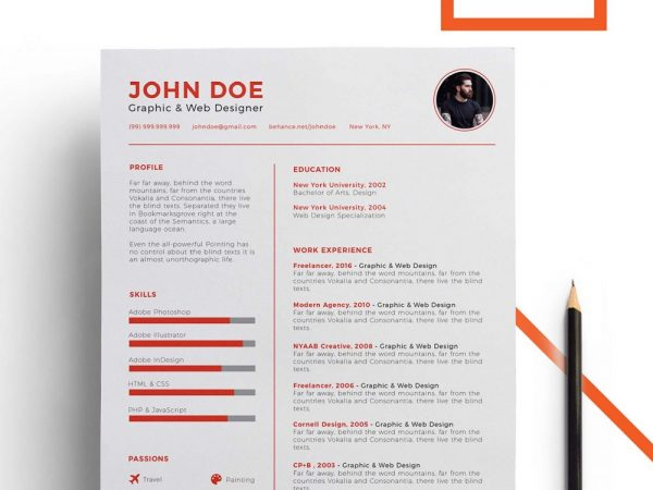 Power Point Resume Template